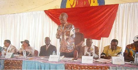 Kadey : vaincre pour Paul Biya